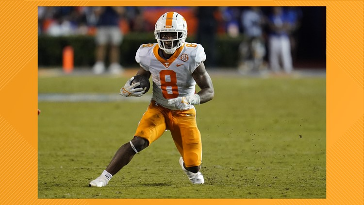 Source: Vols running back Tiyon Evans not likely to play against Ole Miss