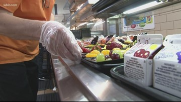Donors give $46,000 for Tennessee county's school meals