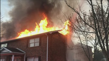 West Knoxville apartment fire ruled an accident