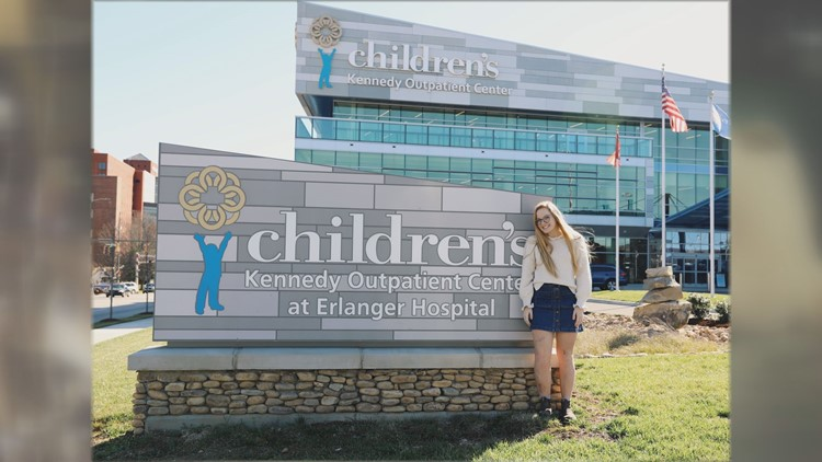 Joy Nason feels a special connection to Children's Hospital at Erlanger in Chattanooga