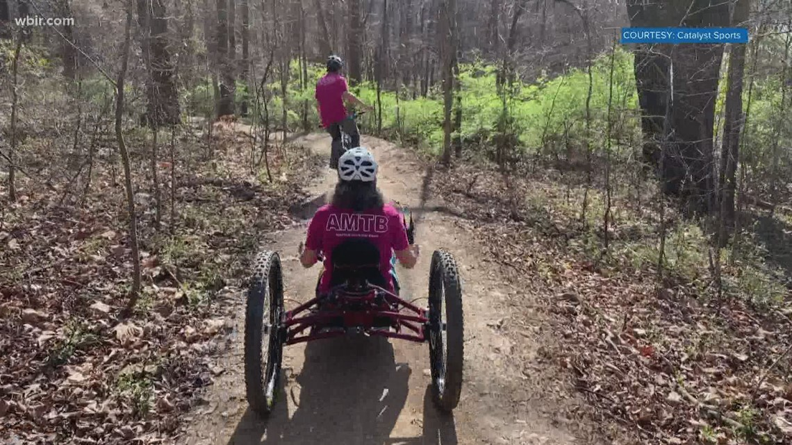 Adaptive mountain biking event this weekend in Knoxville