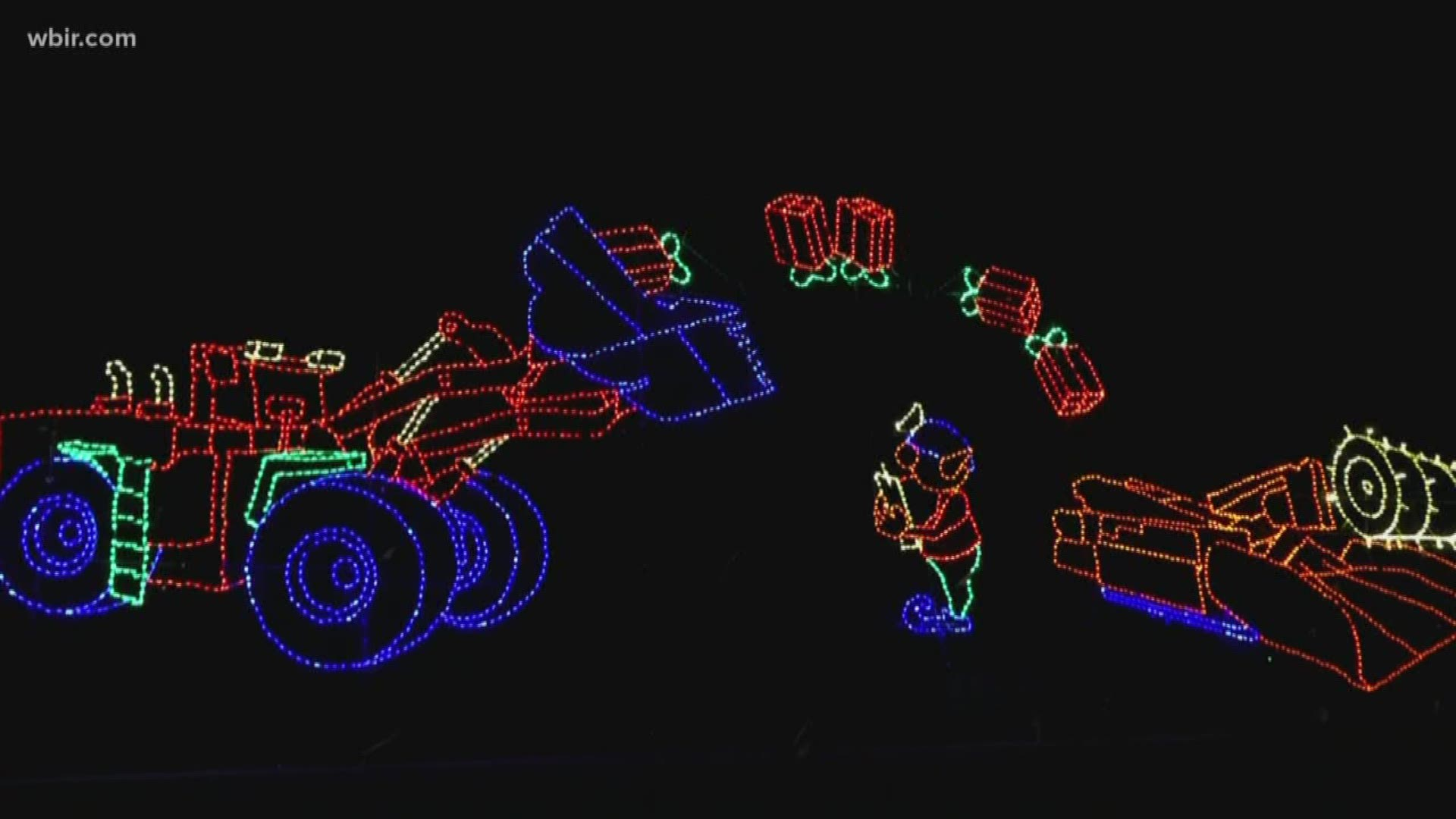 Bristol Motor Speedway Christmas Lights 2020 Check out the lights at Bristol Motor Speedway! | wbir.com