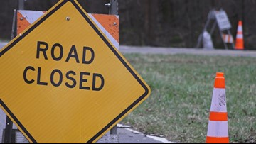 KUB closes Essary Drive in Fountain City after water main break Thursday morning