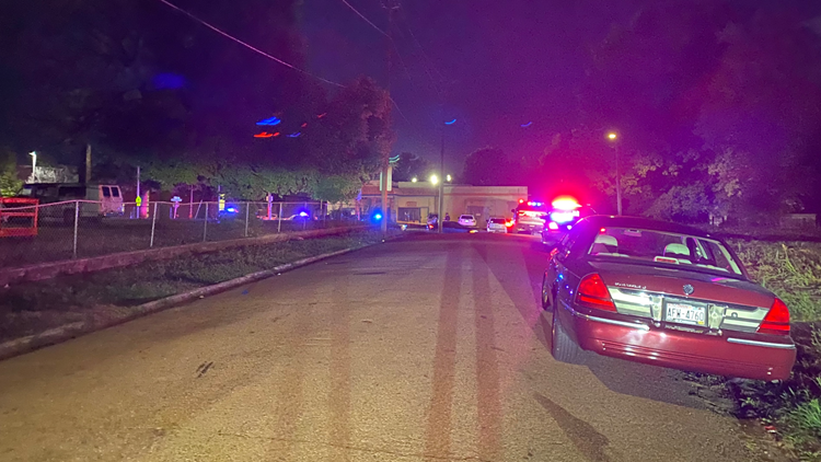 KPD: Male victim shot and taken to hospital near Austin-East High School during homecoming football game