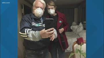 Wife of East Tennessee couple tests negative for coronavirus in Tokyo hospital
