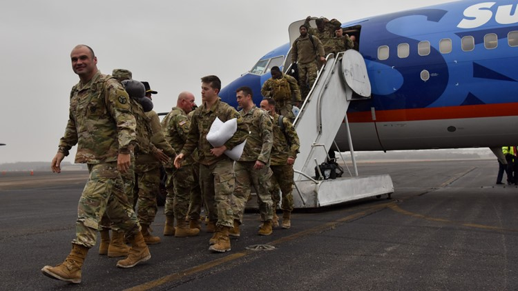 110 Knoxville-based soldiers with the 278th returning to the U.S.