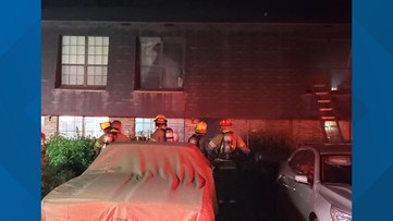 No one hurt in apartment fire at 500 Cross Creek Road