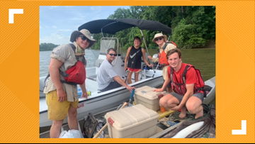 UT freshman starts classes after a 31-day, 800-mile canoe trip over the summer