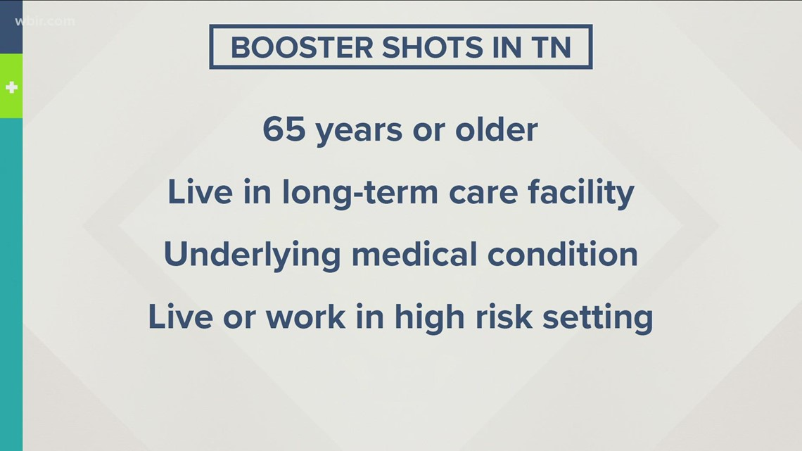 TDH: Health departments across TN to offer COVID booster shots starting Monday
