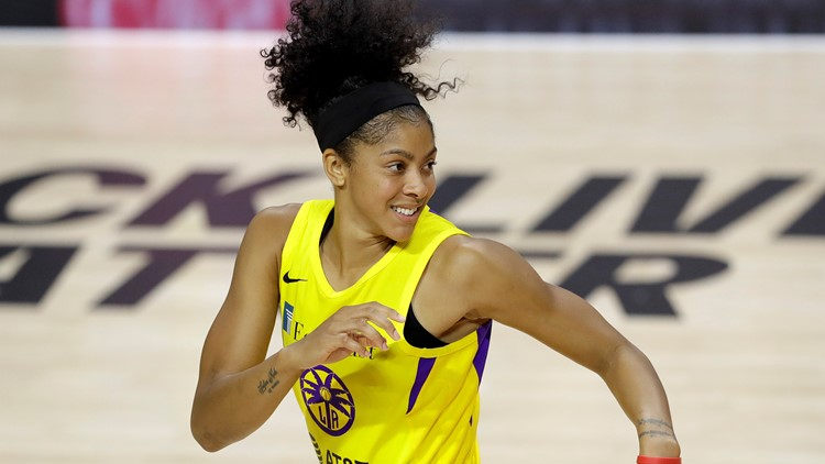 LVFL Candace Parker makes history as first female cover athlete on NBA 2K