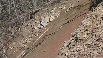 Crews work to clean up I-40 rockslide near Tennessee/North Carolina state  line