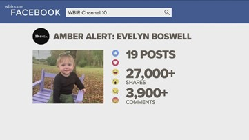 Social media helps, hinders Evelyn Boswell AMBER Alert case