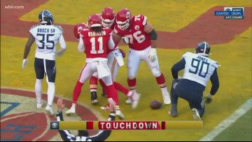 Tennessee Titans fall 35-24 to Kansas City Chiefs in AFC Championship