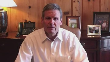 Tennessee Gov. Bill Lee signs Executive Order 17: suspends in-person dining, closes gyms, takes other measures to slow coronavirus spread