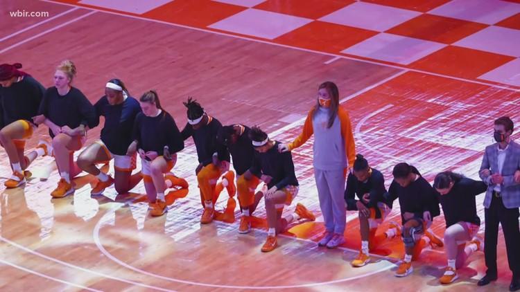 Debate over kneeling during anthem continues