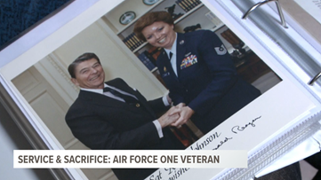 Service and Sacrifice: Air Force One veteran
