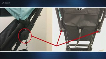 Baby Trend stroller sold at Target and Amazon recalled for falling hazard