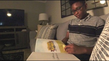 Knox County student overcomes reading disability, creates books to help other kids learn to read