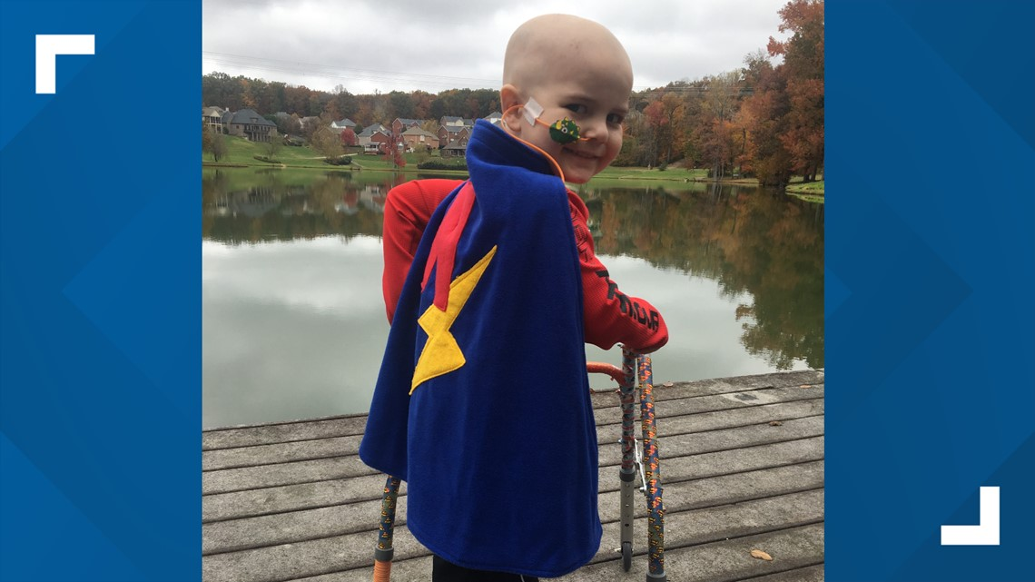 Helping kids fight cancer comfortably