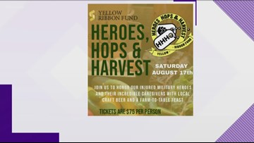 Heroes and harvest event helps veterans