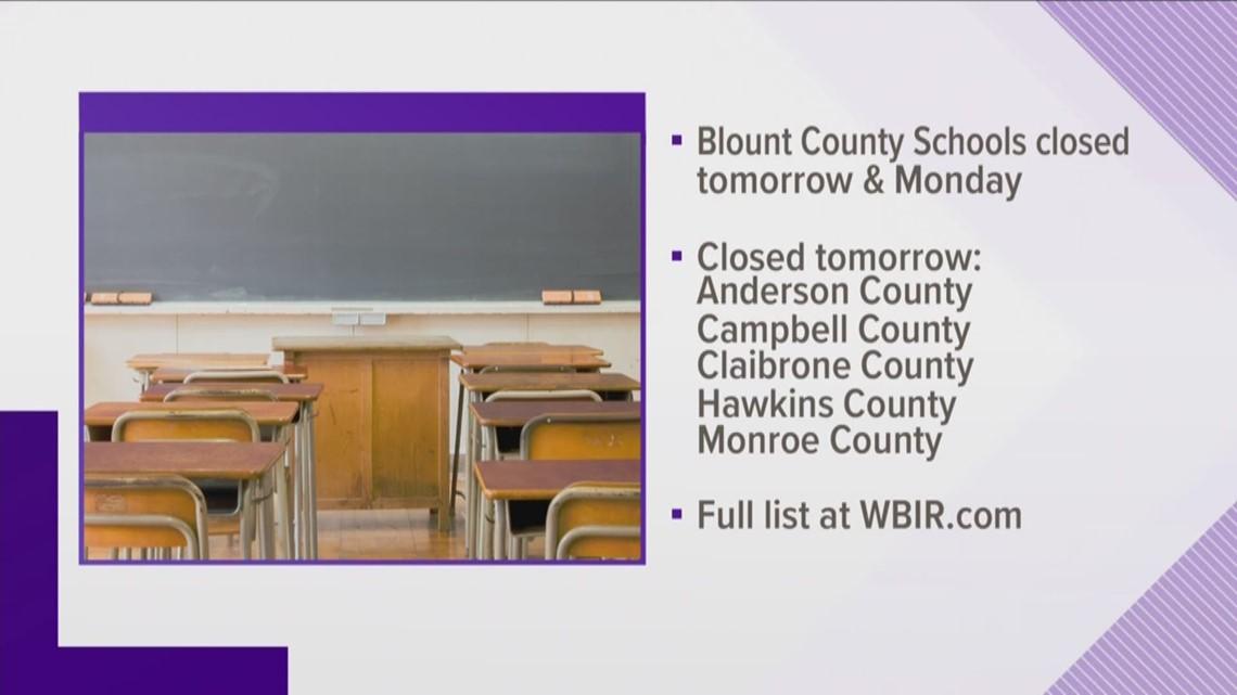 Blount Co  Schools close for illness