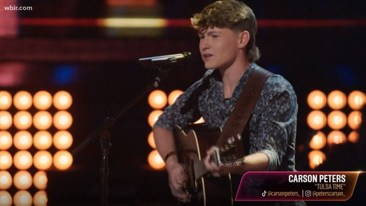 East TN native Carson Peters wows judges on NBC's 'The Voice'