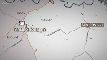 Deputies looking for armed robbery suspect