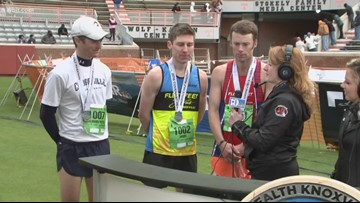 Top 3 men's half-marathon winners talk about race