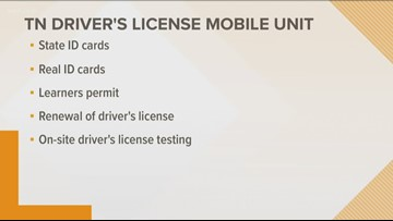 Knoxville Area Urban League to host mobile DMV site for