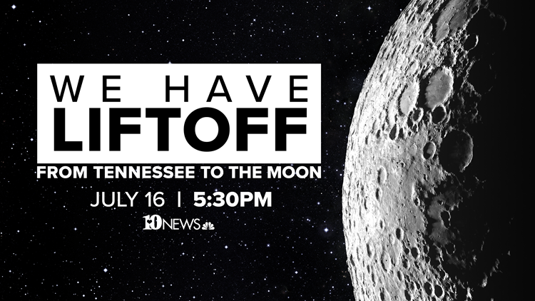 WATCH: We have liftoff | From Tennessee to the moon