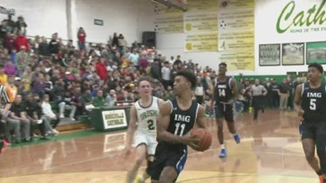 Tennessee commit Jaden Springer, IMG Academy beats Knoxville Catholic, 71-53