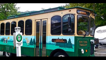 Pigeon Forge Trolley to operate year-round