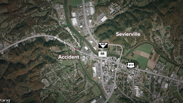 Accident with injuries impacts Sevierville traffic