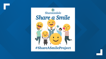 Folks are encouraged to Share a Smile with area senior citizens