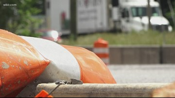Construction on Hwy 321 in Lenoir City is affecting traffic, hurting businesses