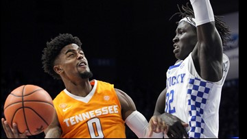 Vols fall from No. 1 to No. 5 after tough loss to Kentucky