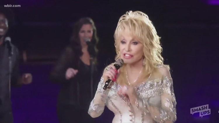 Dolly Parton sings