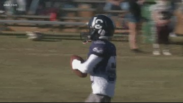 Football little league lets boy with brain injuries score touchdown