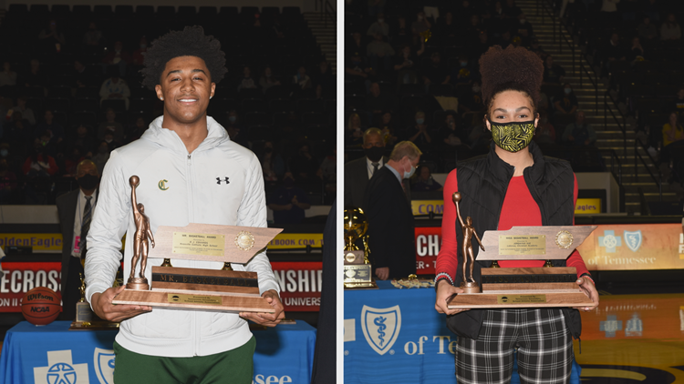 Edwards, Ivie named DII Mr. and Miss Basketball