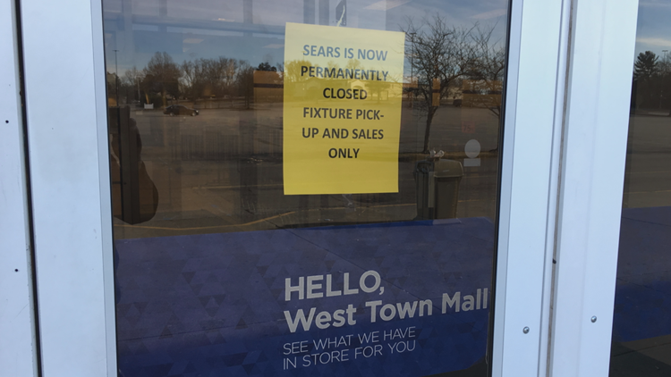 Sears West Town Mall Closed