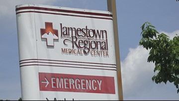 Jamestown Regional Medical Center low on supplies, stops accepting ambulance patients