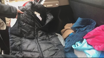 UT students collecting coats for students in need