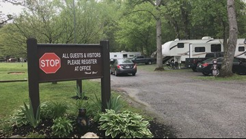 Many Smoky Mountain campgrounds reopen after delays
