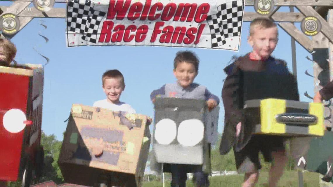 Kindergartners race in Kindy 500