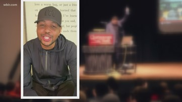 VFL Inky Johnson shares some words of encouragement Straight from the Heart
