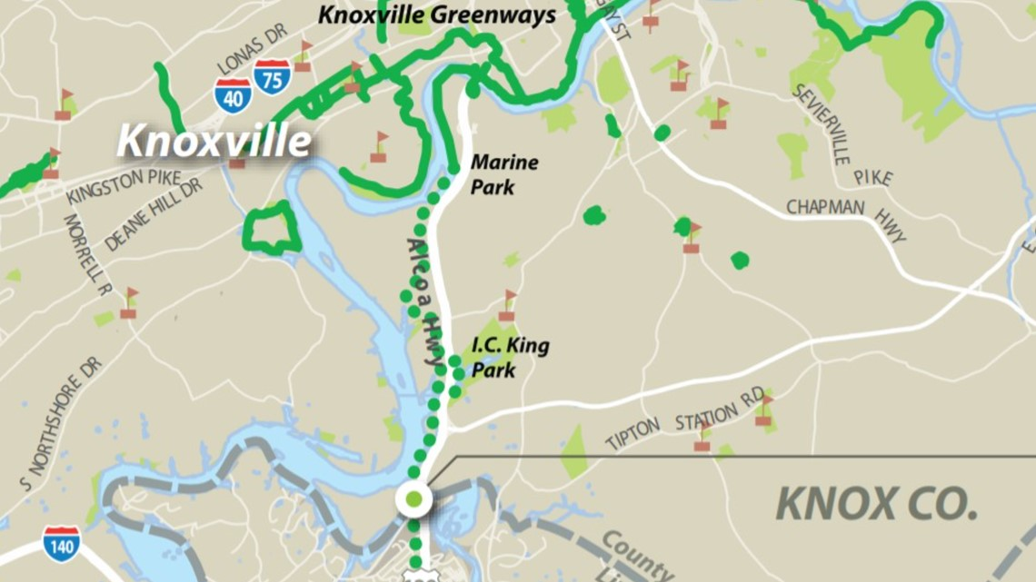 New half-mile section of greenway ready for use in South ...