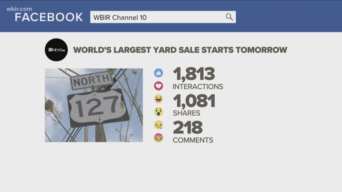 World's Longest Yard Sale begins Thursday on Hwy 127