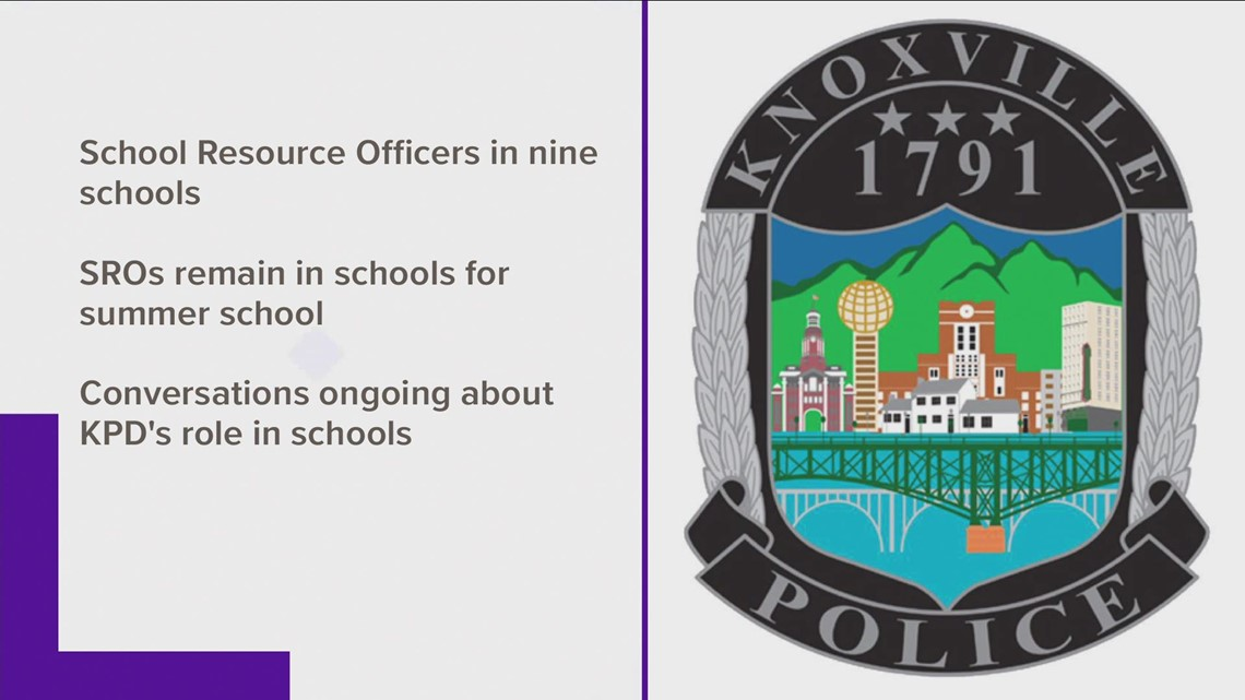 Knoxville Police SROs in schools for summer session