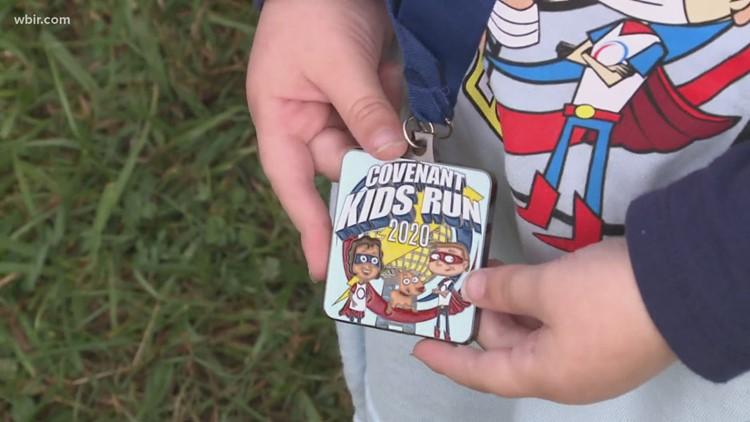 Covenant Health Kids Run is virtual but still fun!
