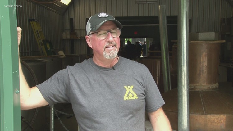A new moonshining distillery opens in Cocke County